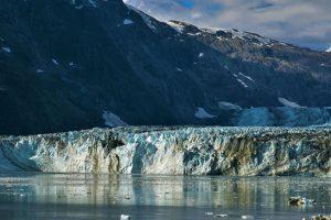 View of Alaskan Glacier