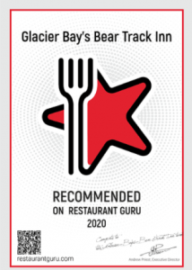 Recommended on Restaurant Guru 2020 Award
